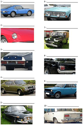 Guess the car