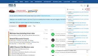 Web Message List Button