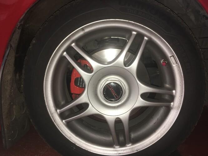 TSW Blade alloy wheel