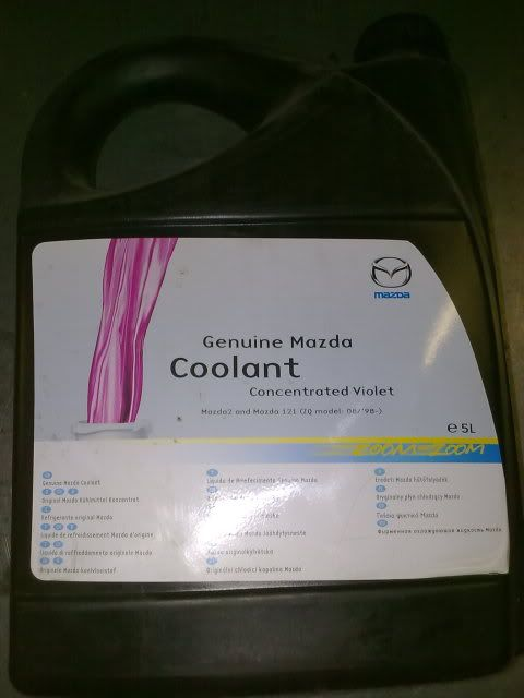 Concentrated Violet Coolant